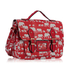 LS00226G - Red Elephant Design Satchel