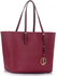 LS00297 - Burgundy Women's Large Tote Bag