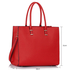 LS00319 - Red Fashion Tote Handbag