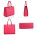 AG00319 - Pink Fashion Tote Handbag