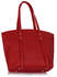 LS00335 - Red Women's Large Tote Bag