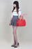 LS0099A  - Red Grab Shoulder Handbag