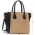 LS0061A - Black / Nude Fashion Tote Bag