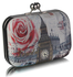 LSE00291 - White London Big Ben landscape character With Kiss Lock