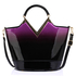 AG00379 - Purple Two Tone Patent Bag