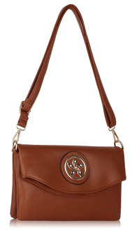 LS00371 - Brown Shoulder Cross Body Bag