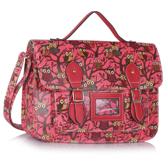 LS00226D - Red Owl Design Satchel