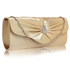 LSE0067- Wholesale & B2B Nude Sparkly Crystal Satin Clutch purse Supplier & Manufacturer