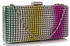 LSE0029 - Multi colour Sparkly Diamante Evening Clutch