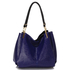 AG00243 - Blue Snake- Effect Shoulder Bag