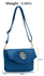 LS00371A - Blue Shoulder Cross Body Bag