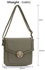 LS00431 - Grey Shoulder Cross Body Bag
