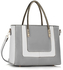 LS00318 - Grey / White Women's Fashion Tote Bag