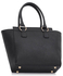 LS00414 - Wholesale & B2B Black / Nude Fashion Tote Bag Supplier & Manufacturer