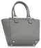 LS00414 - Wholesale & B2B Grey / White Fashion Tote Bag Supplier & Manufacturer