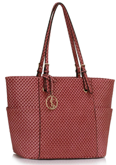 LS00471 - Wholesale & B2B Pink Women's Large Tote Bag Supplier & Manufacturer