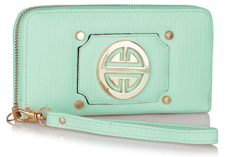 LSP1051 - Mint Purse/Wallet with Metal Decoration