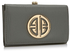 LSP1063 - Grey Purse/Wallet with Metal Decoration