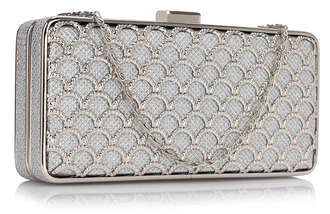 LSE00308 - Sliver Luxury Clutch Purse