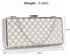 LSE00308 - Ivory Luxury Clutch Purse