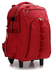 AG00398A  - Red Backpack Rucksack With Wheels