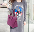 LS00480 - Purple Tote Shoulder Handbag