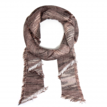 anna grace texture winter scarf