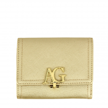 anna grace flap purse wallet