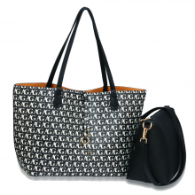 wholesale anna grace reversible large tote bag