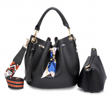 wholesale anna grace drawstring shoulder bag