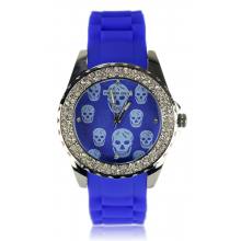 wholesale watches - skull blue